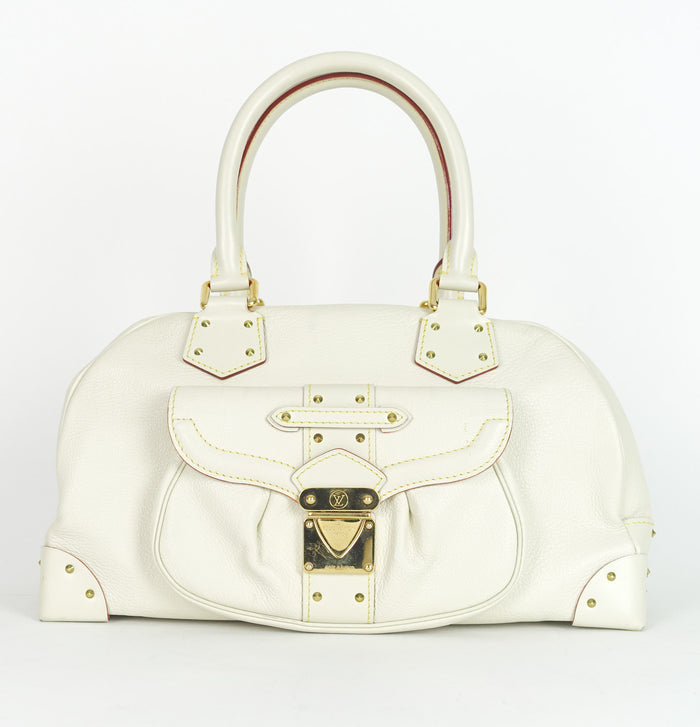 Le Superbe Suhali Goatskin Leather Handbag