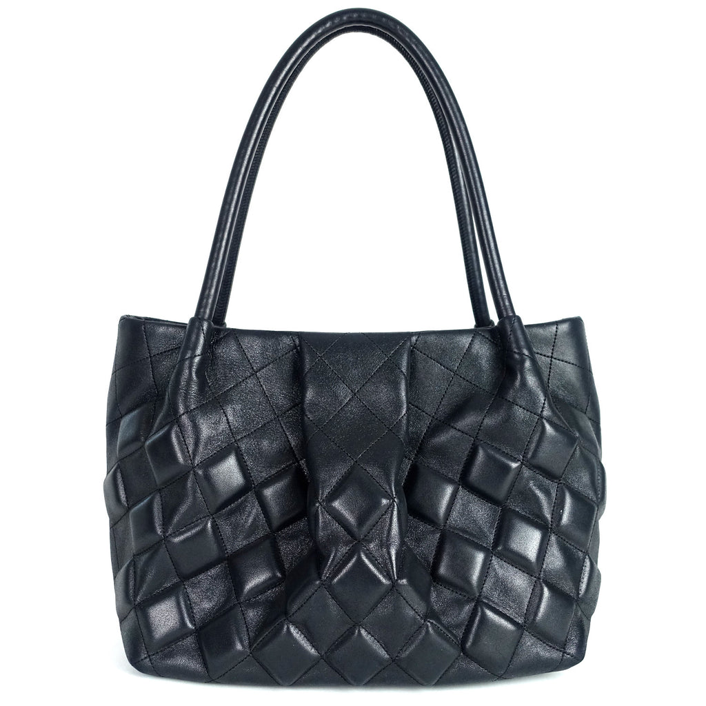 Sloane Square Quilted Calfskin Leather Shoulder Bag