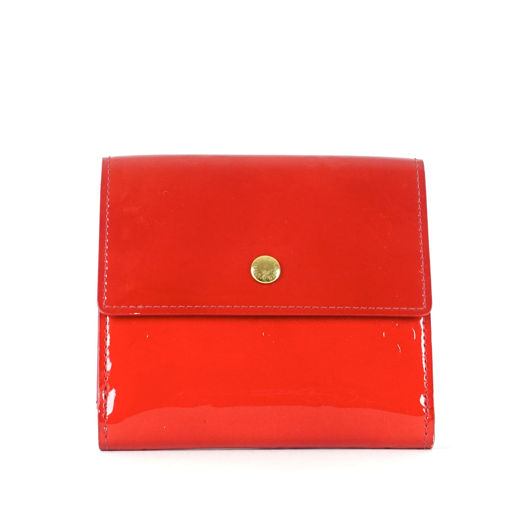 Elise Monogram Vernis Leather Wallet