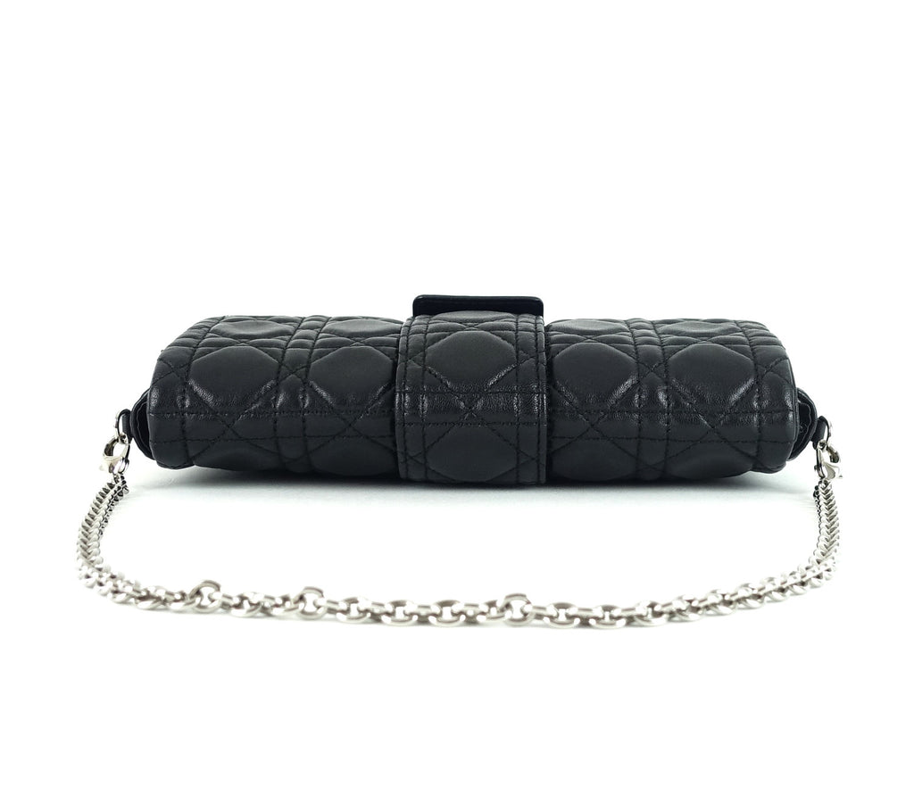 Miss Dior Promenade Cannage Quilted Lambskin Leather Bag