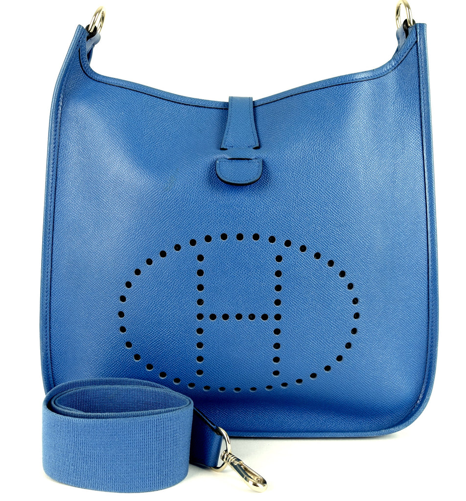 Evelyne I GM Epsom Leather Shoulder Bag