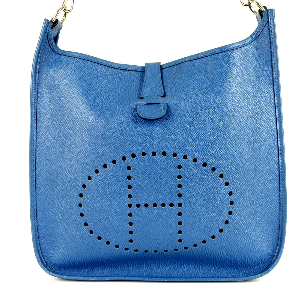 Evelyne GM Epsom Leather Shoulder Bag
