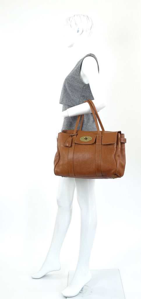 Mulberry Bayswater Pebbled Leather Bag