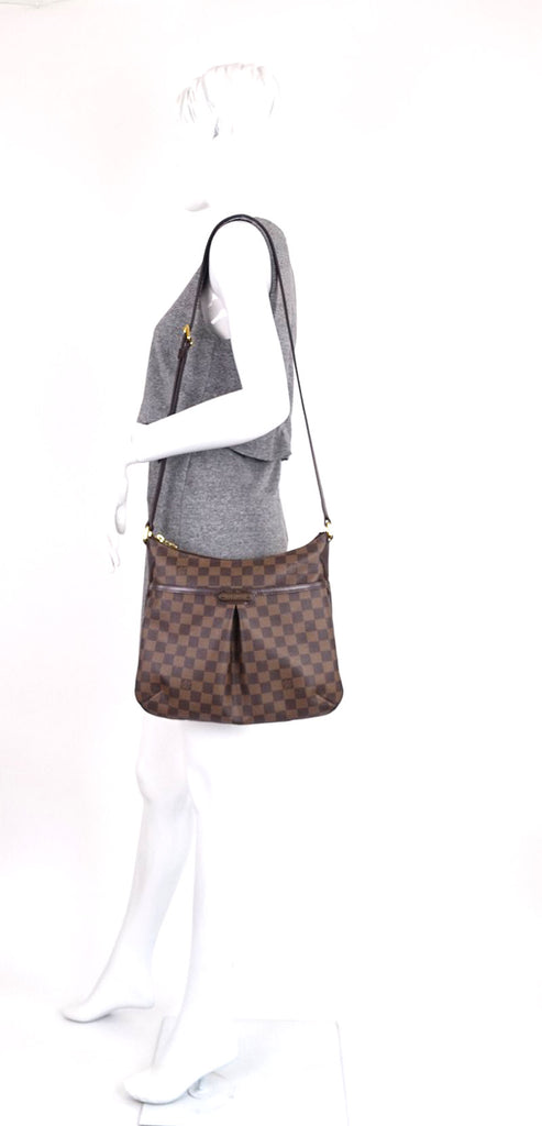 Bloomsbury PM Damier Ebene Canvas Bag