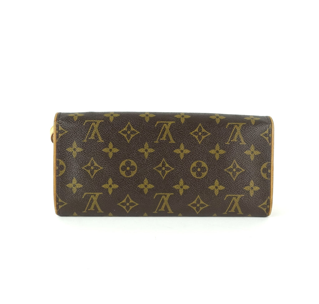 Pochette Twin GM Monogram Canvas Shoulder Bag