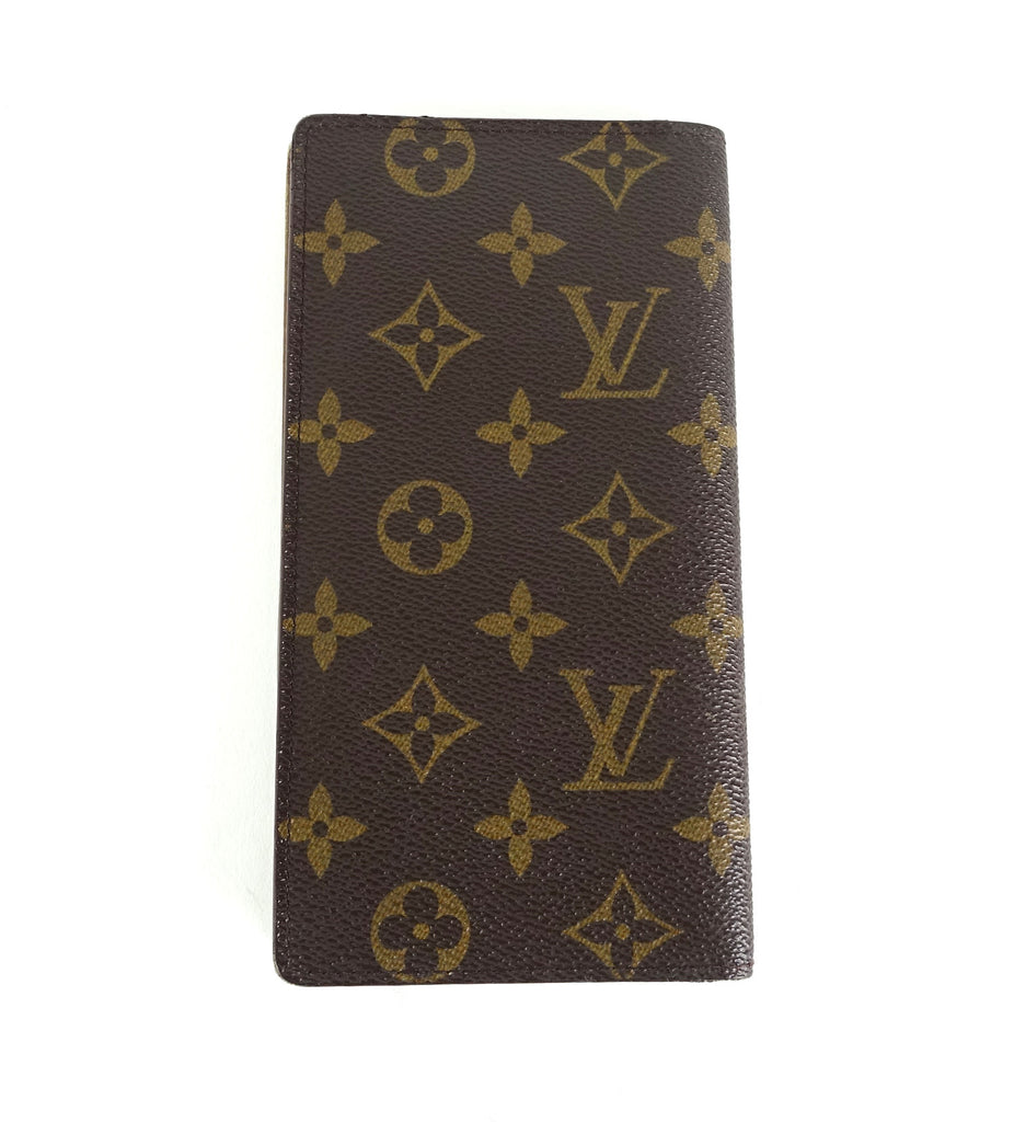 Bifold Monogram Canvas Long Wallet