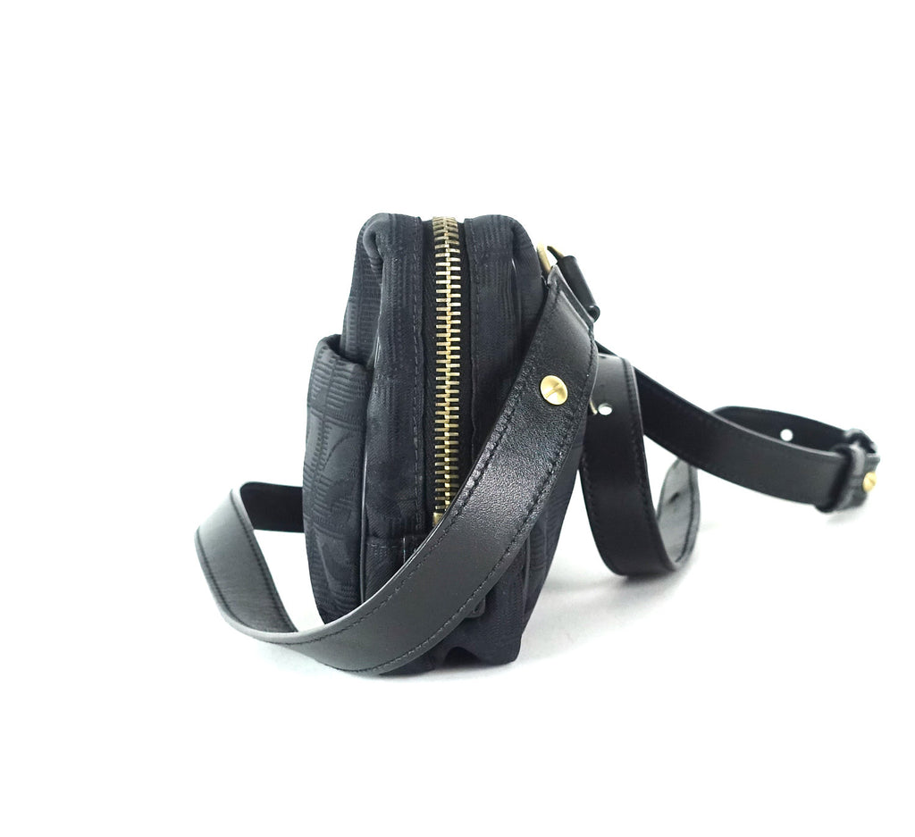 Travel Ligne Convertible Nylon Belt and Shoulder Bag