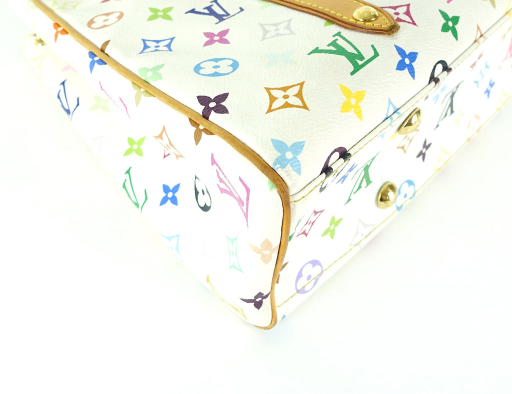 Aurelia MM Multicolore Monogram Canvas Tote Bag