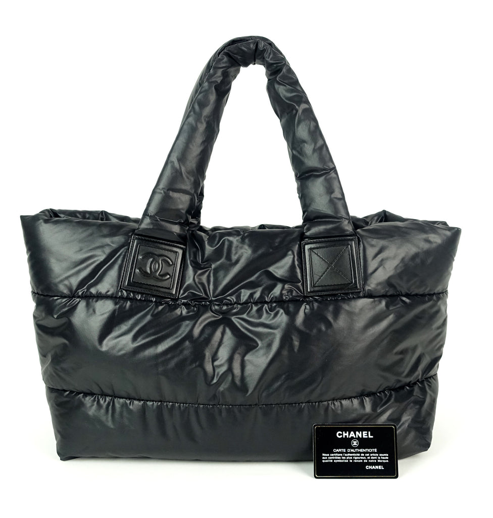 Coco Cocoon Reversible Nylon Tote Bag