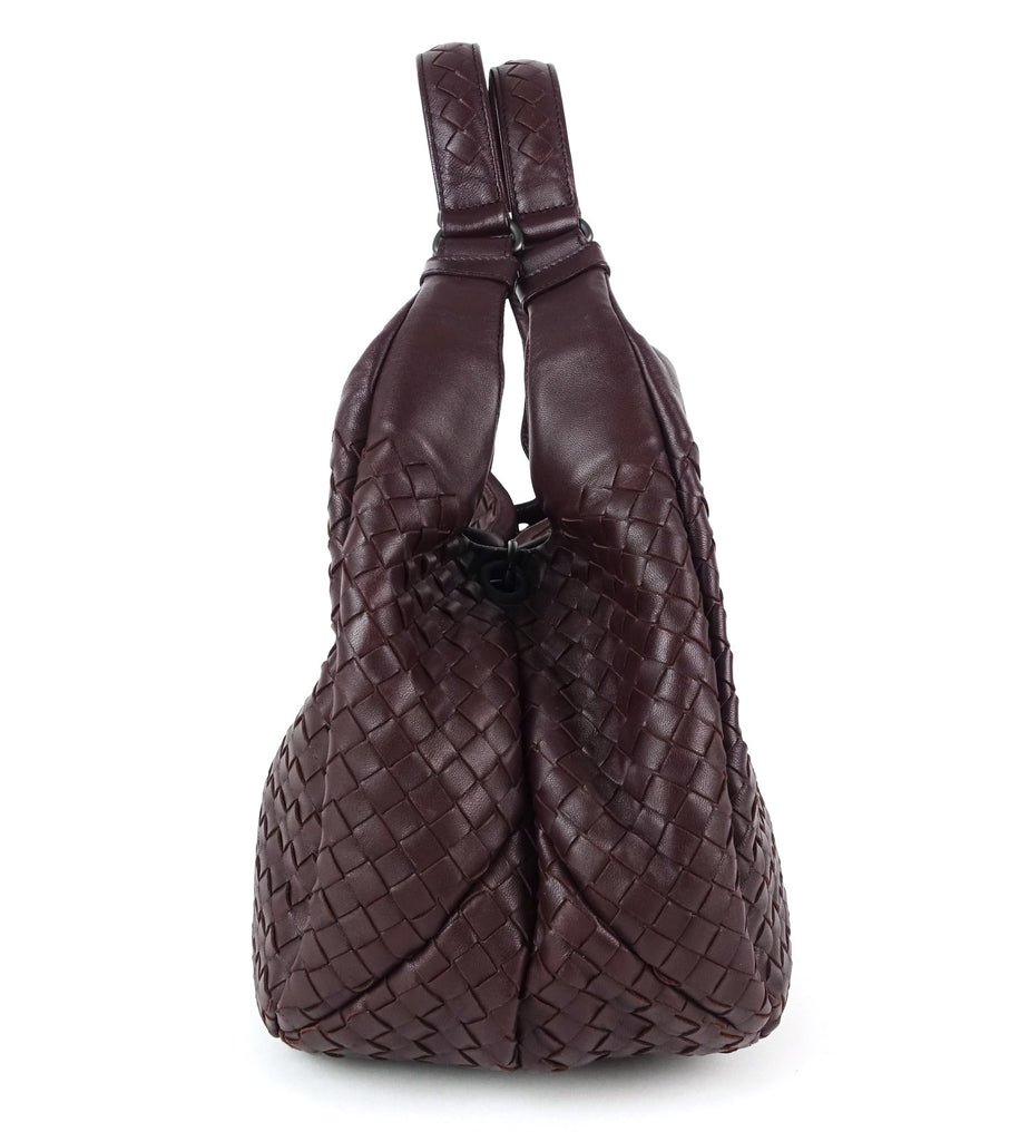 Campana Intrecciato Nappa Leather Hobo Bag