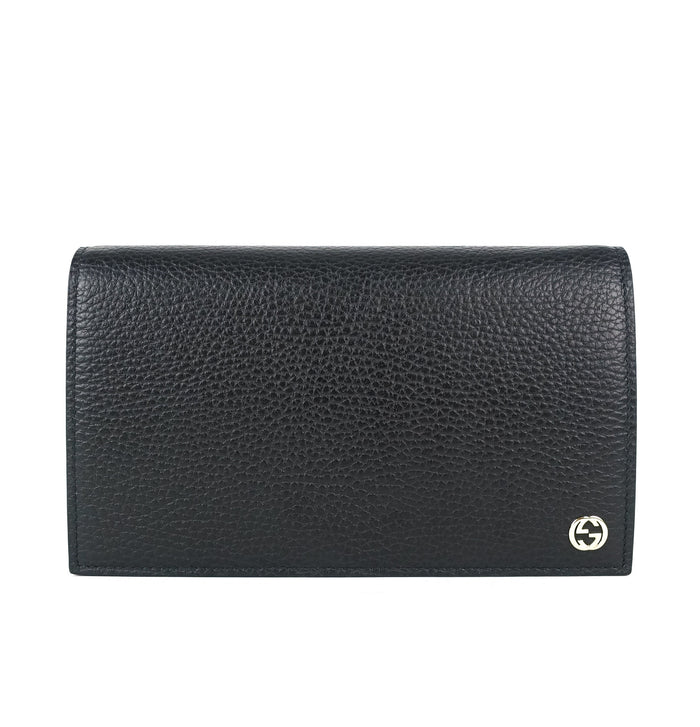 Betty Leather Wallet on Chain Bag