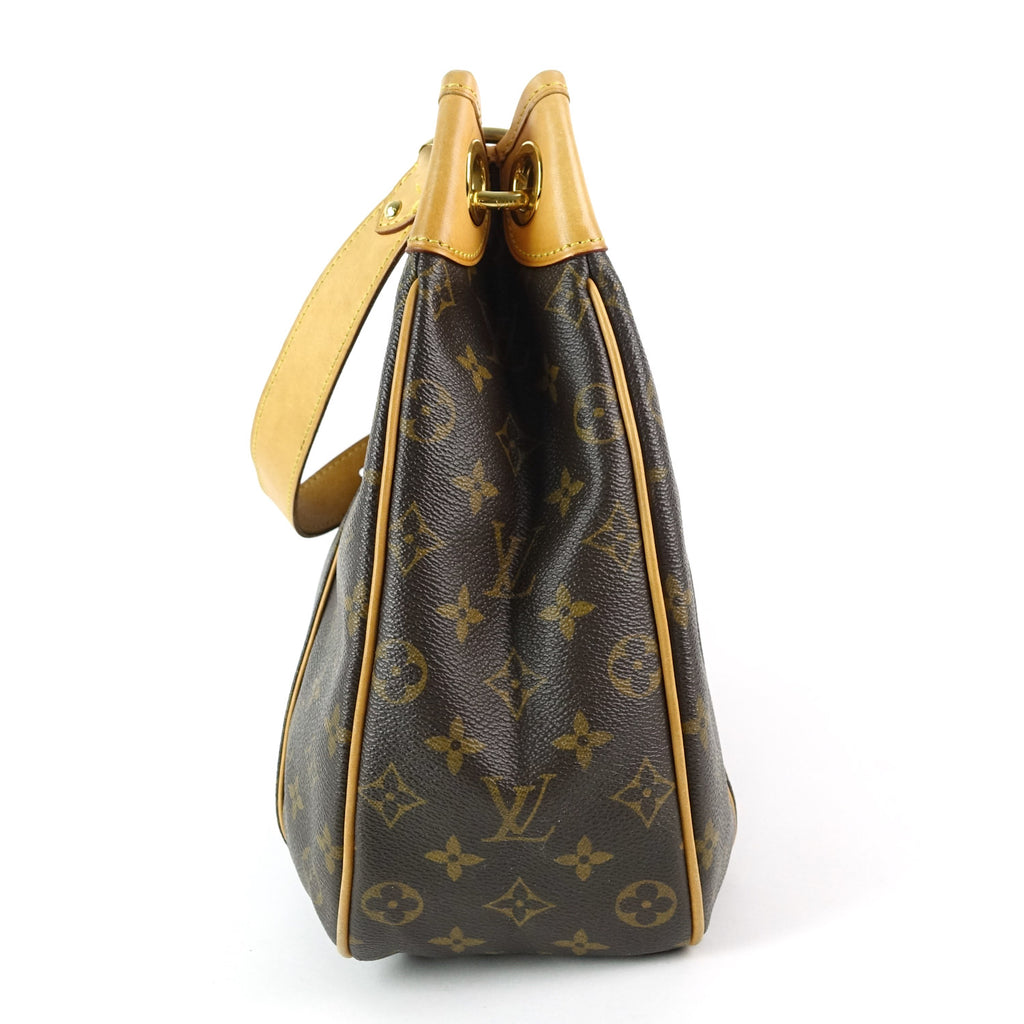 Galliera PM Monogram Canvas Shoulder Bag