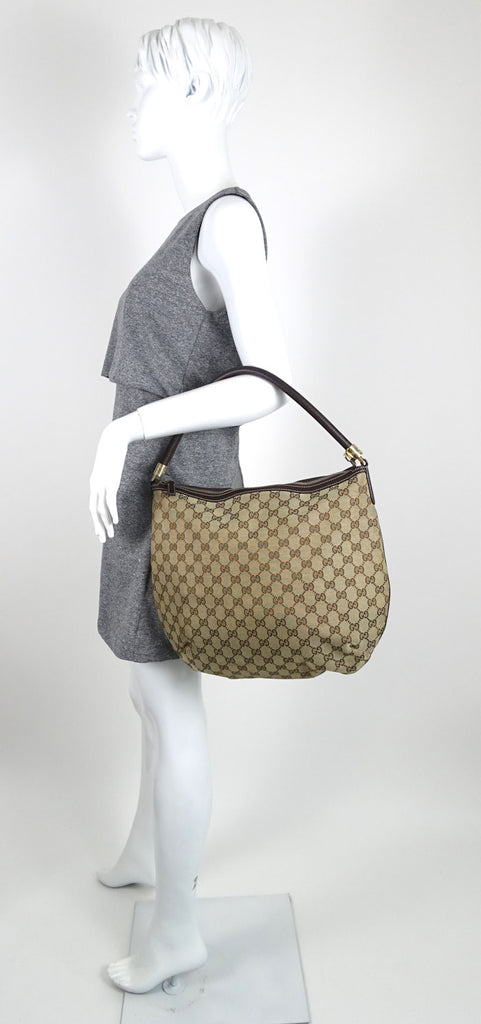 Monogram Canvas Hobo Bag