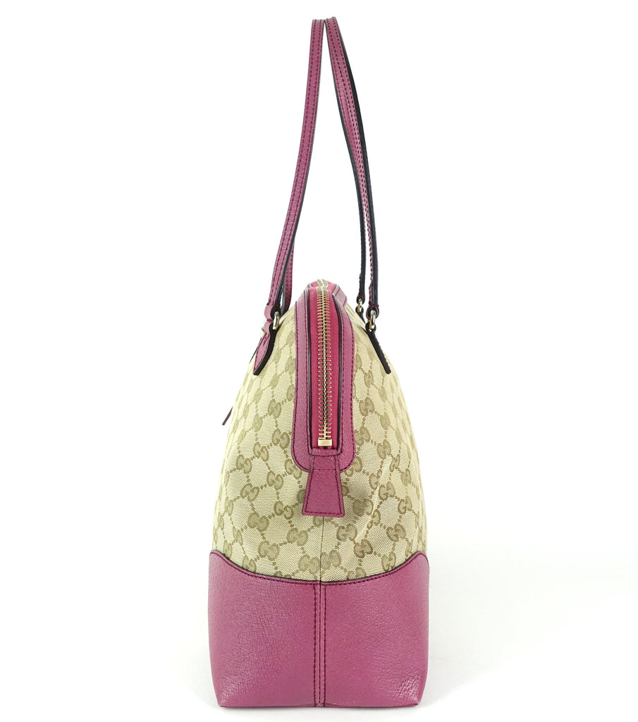 Bree Medium Monogram Canvas and Leather Handbag