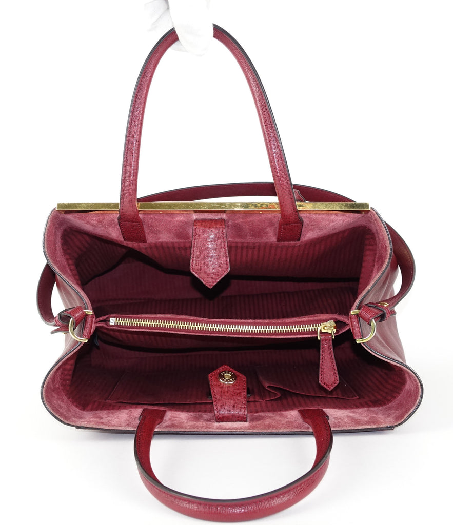 2Jours Medium Calf Leather Handbag