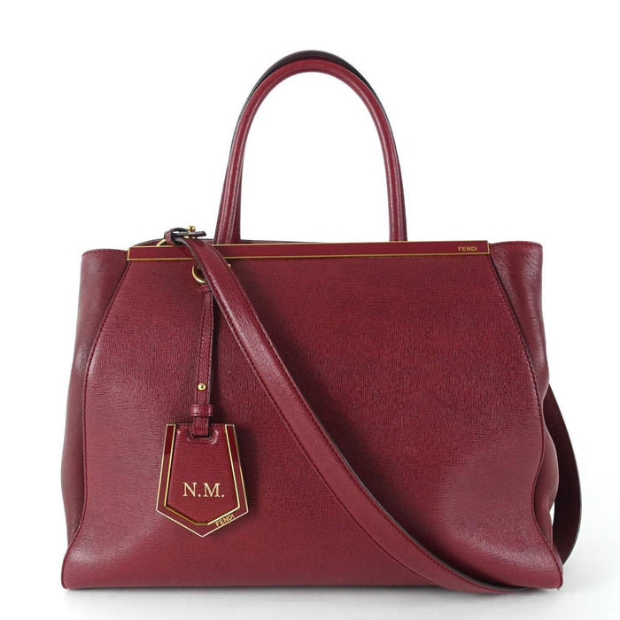 2Jours Calfskin Leather Medium Handbag