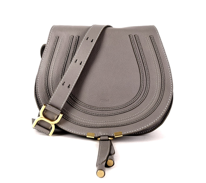 Marcie Calfskin Leather Medium Crossbody Bag
