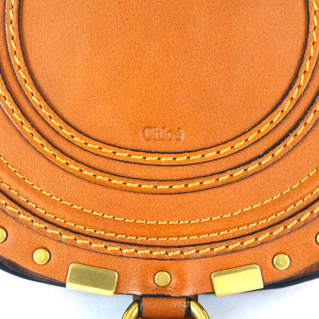 Marcie Calfskin Leather Small Crossbody Bag