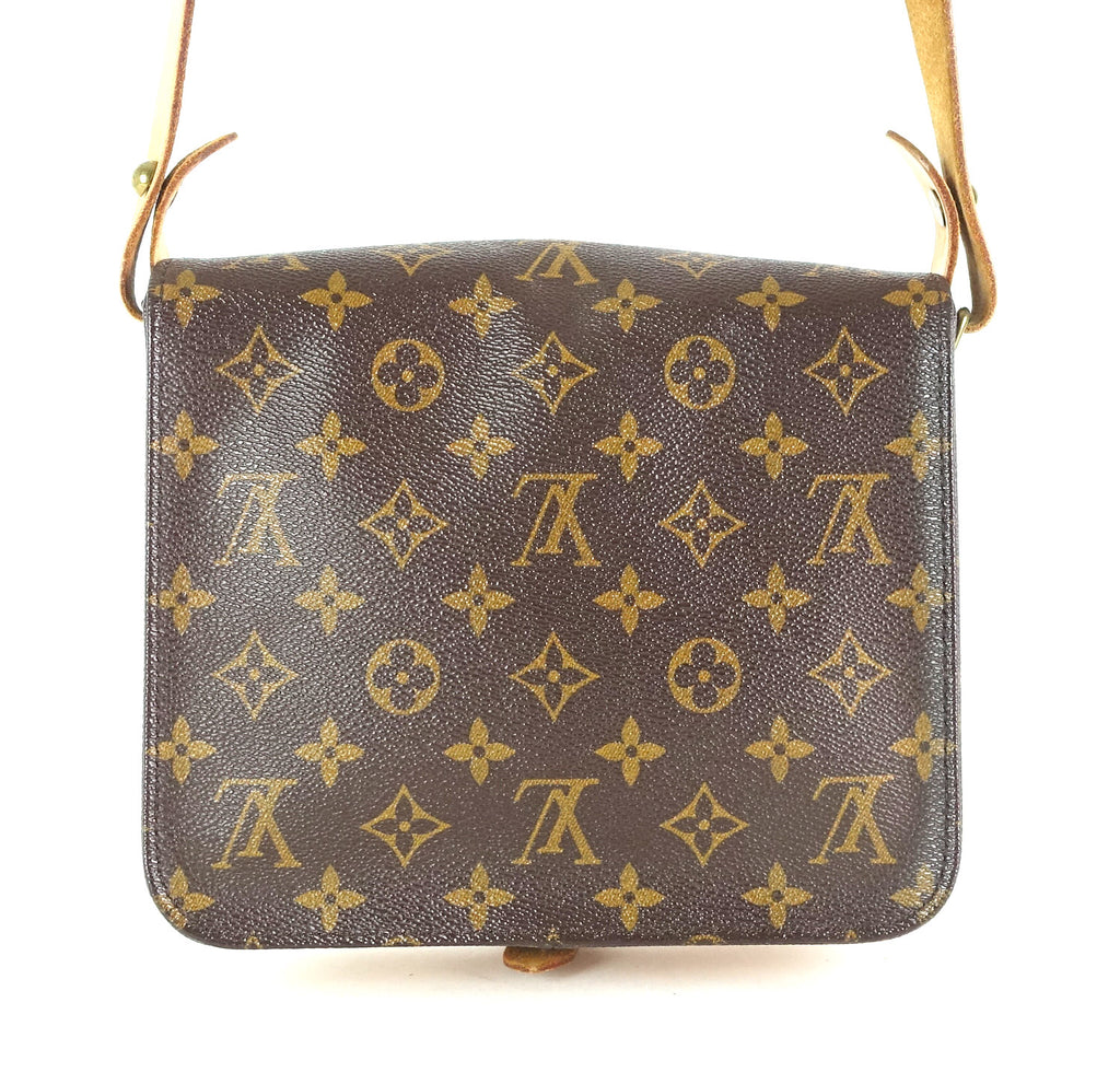 Cartouchiere MM Monogram Canvas Shoulder Bag
