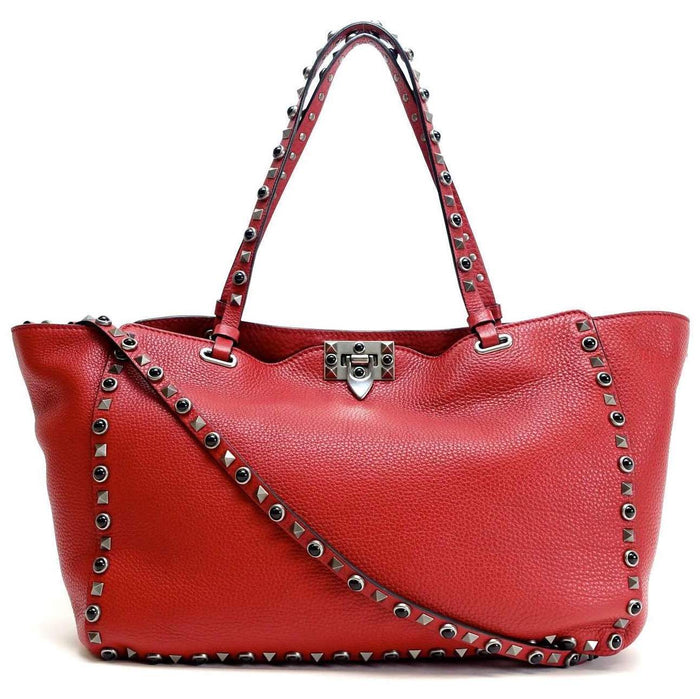 Rockstud Medium Calf Leather Cabochons Bag