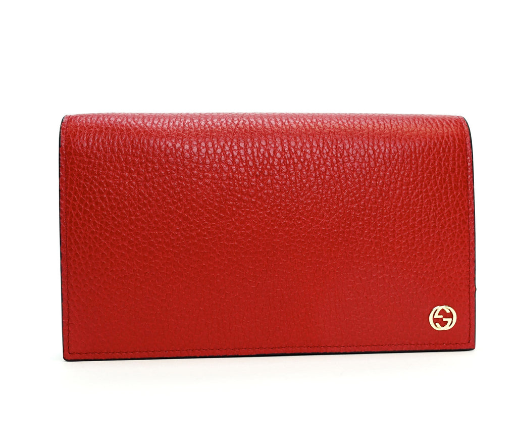 Betty Calf Leather Wallet on Chain Bag