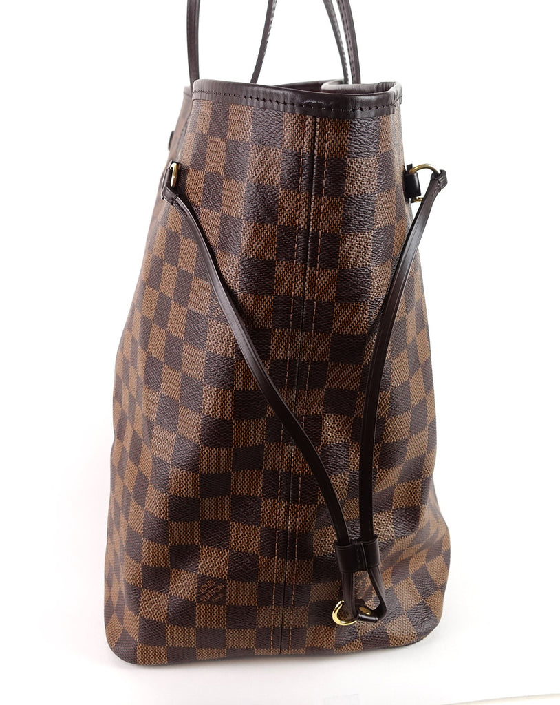 Neverfull GM Damier Ebène Canvas Tote Bag