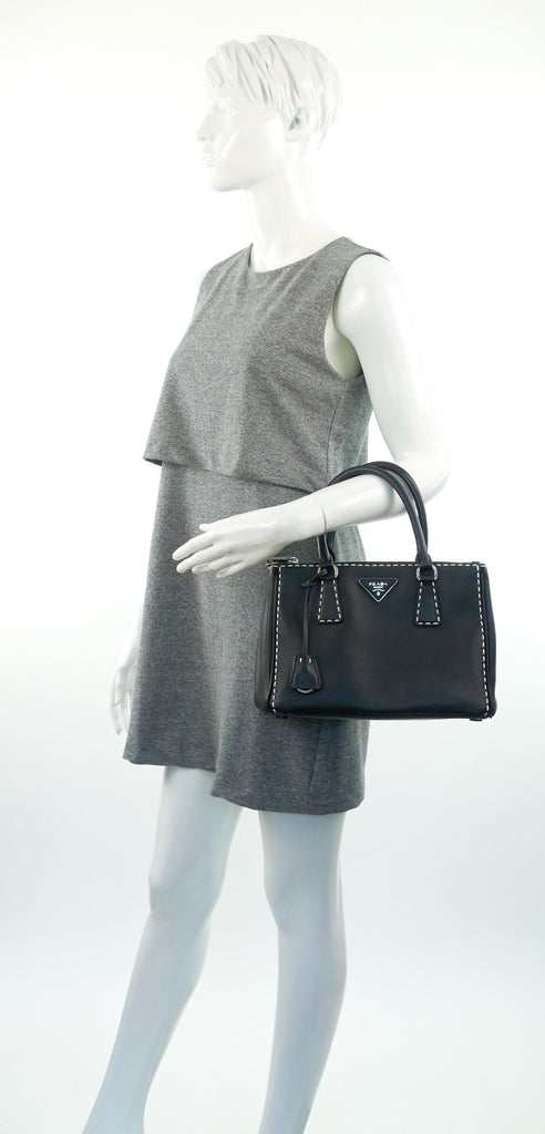 Calf Leather City Tote Bag