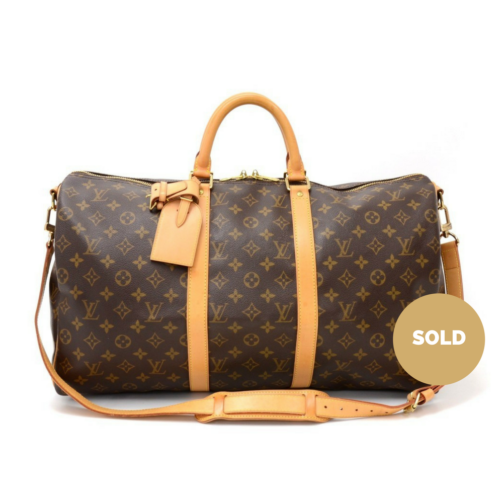 bc29a355b9471 Keepall 50 Bandouliere Monogram Canvas Travel Bag with Strap. Next. Louis  Vuitton