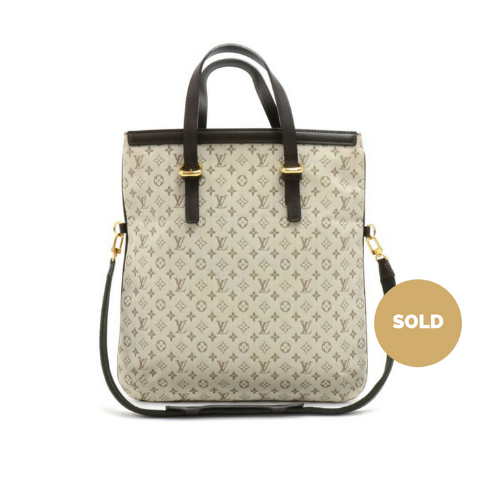 Francoise Mini Monogram Canvas Shoulder Bag