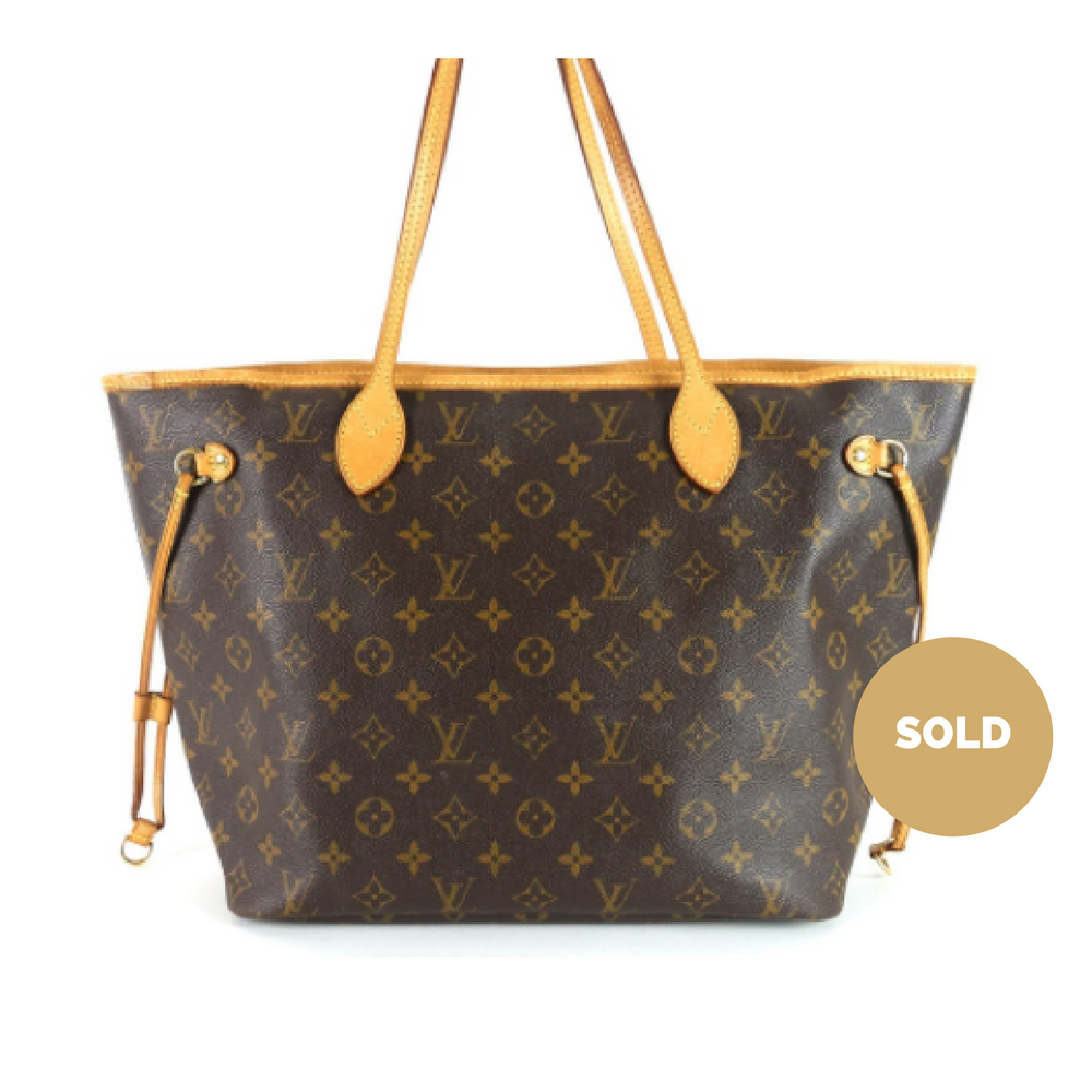 66ead67d7167 Louis Vuitton Neverfull MM Monogram Canvas Tote Bag – Poshbag Boutique