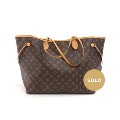 Louis Vuitton Neverfull GM Monogram Canvas Tote Bag – Poshbag Boutique 3746dc8d19e3e