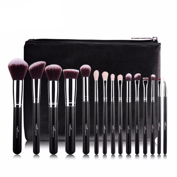 Brushes - Limited Edition Makeup Brush Kit & Bag By MSQ - Free Shipping!