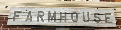 Farmhouse Weathered Fencing Sign