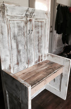 Custom Antique Door Bench