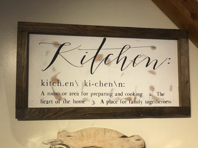 Kitchen - definition