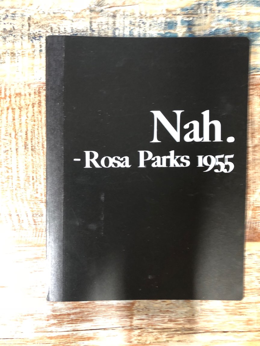 Notebook - Rosa Parks