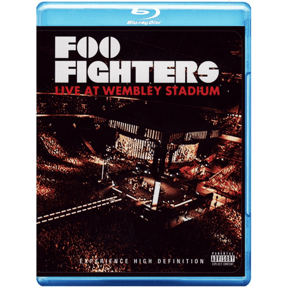 Live At Wembley Stadium DVD or Blu-Ray - Foo Fighters