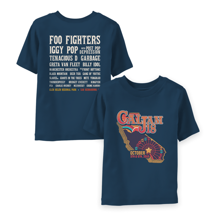 Cal Jam Event Youth Tee - Foo Fighters