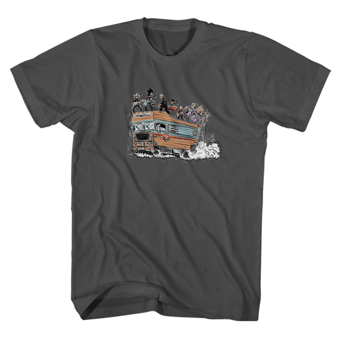 Cal Jam RV Charcoal Tee - Foo Fighters