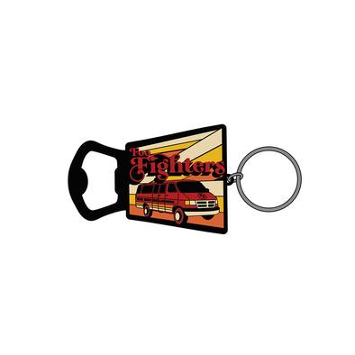 Big Red Delicious Bottle Opener Keychain