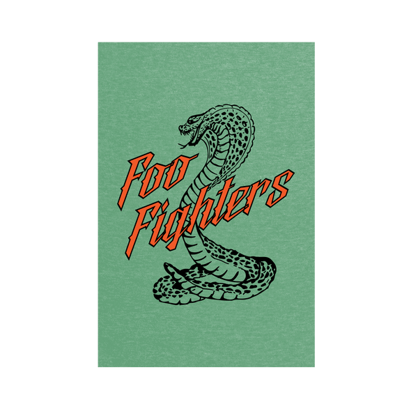 Cobra Wall Flag - Foo Fighters