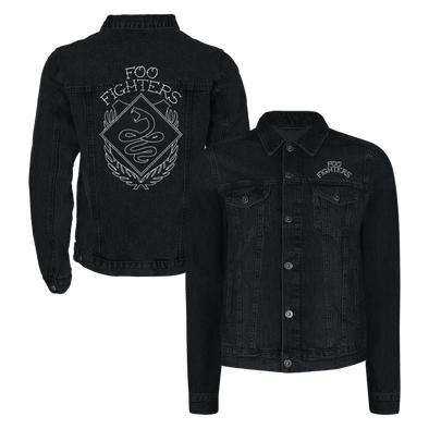 Snakebite Denim Jacket - Foo Fighters