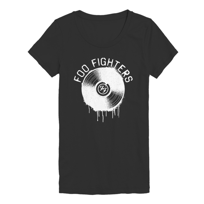 Grooves Washed Womens Tee - Foo Fighters