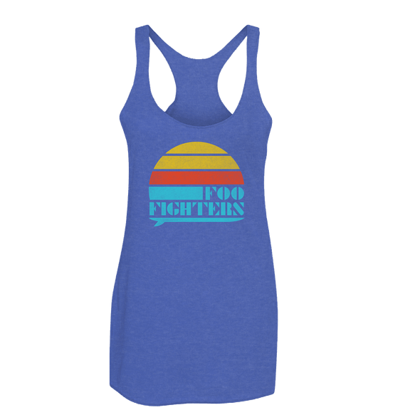 SURFBOARD WOMENS TANK - Foo Fighters