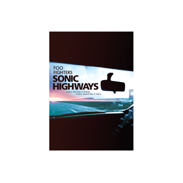 Sonic Highways DVD or Blu-Ray