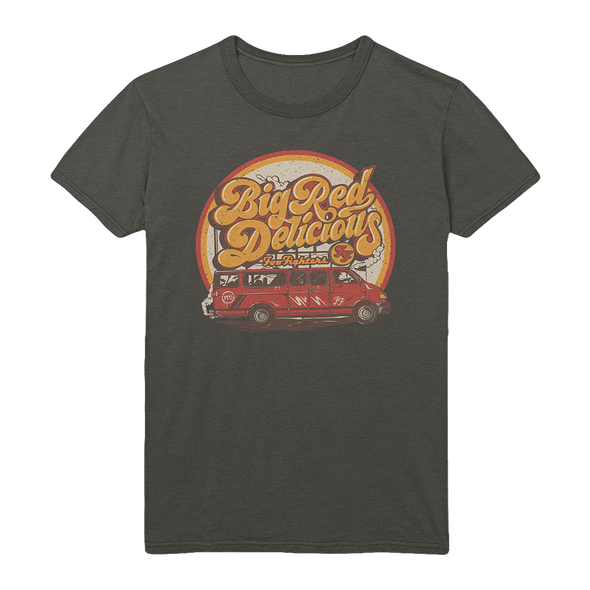 Big Red Delicious Charcoal Tee