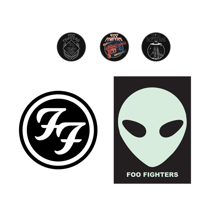 Button Sticker Pack - Foo Fighters