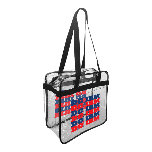 D.C. Jam Repeater Clear Tote Bag