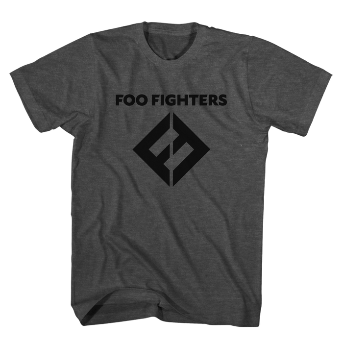 FF Equals Logo Tee (Charcoal) - Foo Fighters