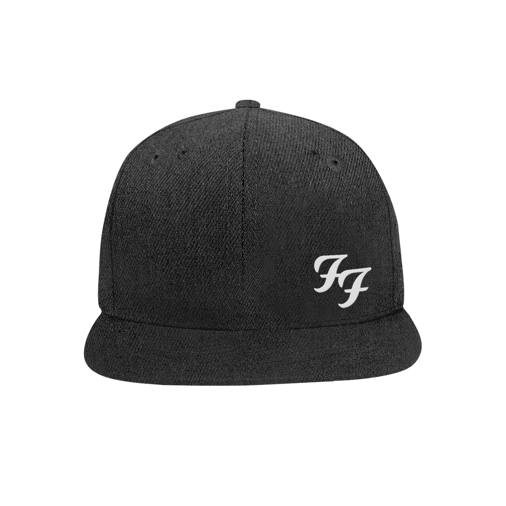 $0.00 Foo Fighters - FF Snapback Hat (Black) \u2013 Official Store